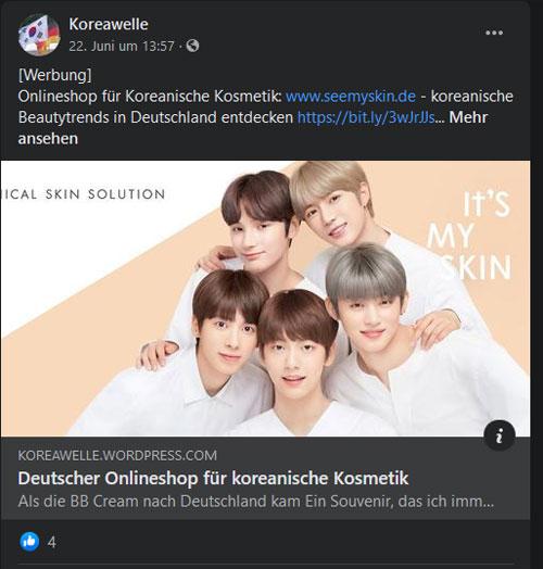 Koreawelle-FB-Post