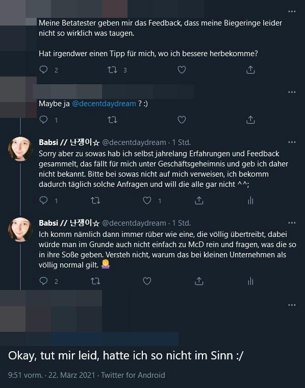 Twitter-Erklärung